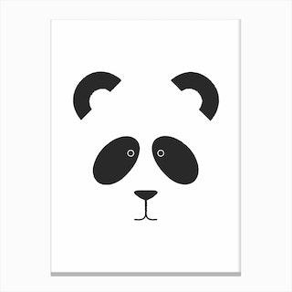 Panda I Canvas Print