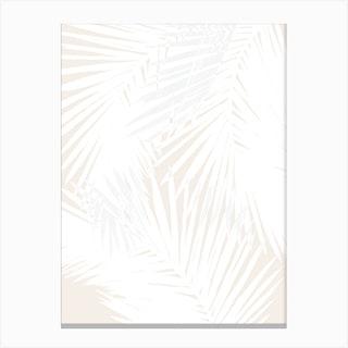 Nude Palms Canvas Print