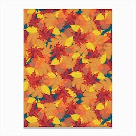 Bright Fall Canvas Print