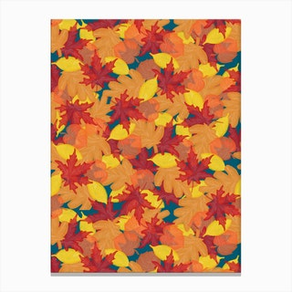 Bright Fall Canvas Print
