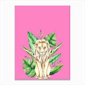 In the Jungle I Canvas Print