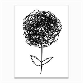 La Petite Fleur Canvas Print