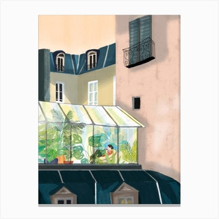 Petit Matin Canvas Print