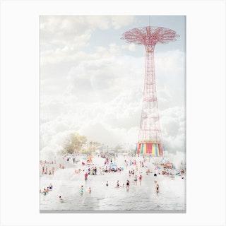 Brooklyn Parachute Jump Canvas Print