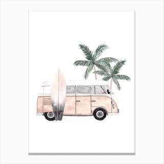 Vacation Mode Canvas Print