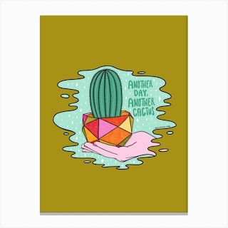 Another Cactus Canvas Print