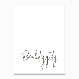 Bombdiggity Canvas Print