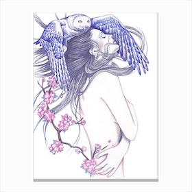 Blue Wind Canvas Print