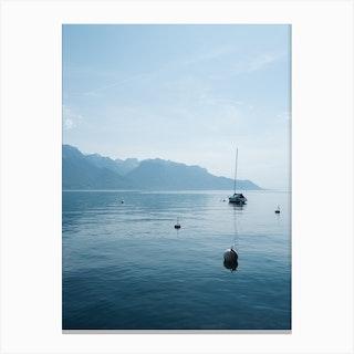 Peaceful Lake Canvas Print