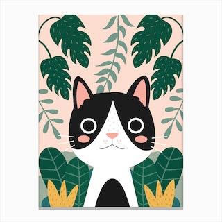 Jungle Cat 2 Canvas Print