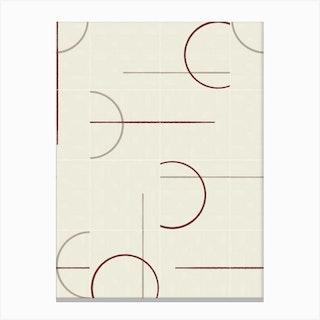 Minimal Rustic Tiles 02 Canvas Print