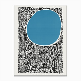 Blue Lake Canvas Print