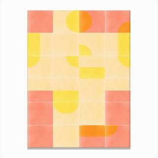 Retro Tiles 01 Canvas Print
