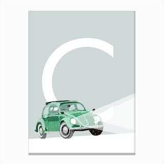 C Car Canvas Print