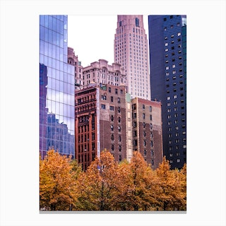 Fall New In York Canvas Print