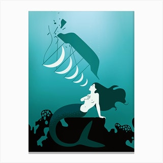 Mermaid Song Canvas Print