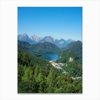 Bavarian Alps Canvas Print