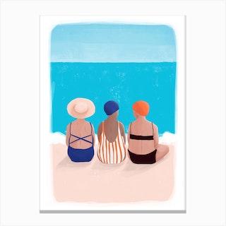 Small Talks Canvas Print