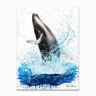 Glorious Ocean Whale Canvas Print
