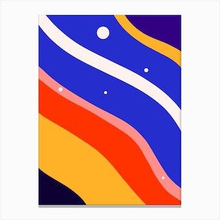 Whimsical Waves Canvas Print