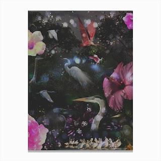 Mystical Night Canvas Print