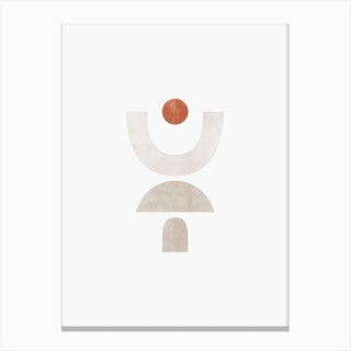 Abstract Geometric 1 Canvas Print