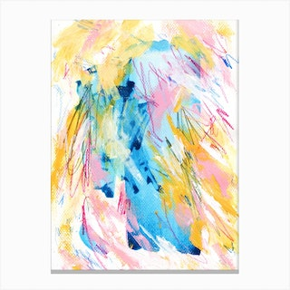 Messy Thoughts Canvas Print
