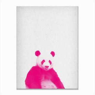 Frolein Panda II Canvas Print