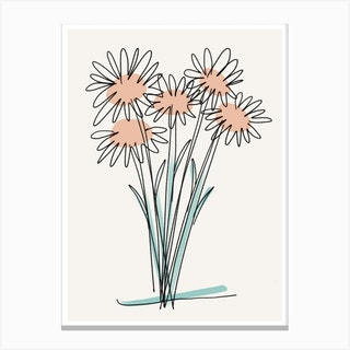 Lazy Daisy Day Canvas Print