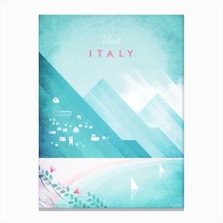 Visit Italy Canvas Print