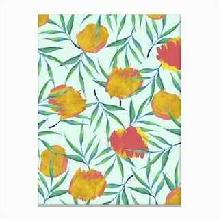 Floraison Canvas Print