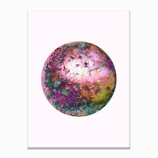 Rainbow Pow Pow Canvas Print