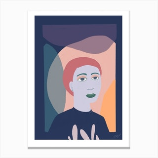 Palma Violet Canvas Print