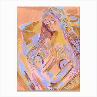 Amy Ayanda Iwd Canvas Print