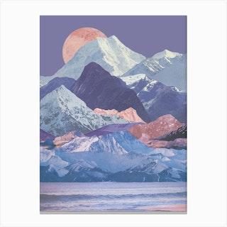 Rainbow Ranges Canvas Print