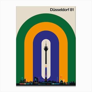 Düsseldorf 81 Canvas Print