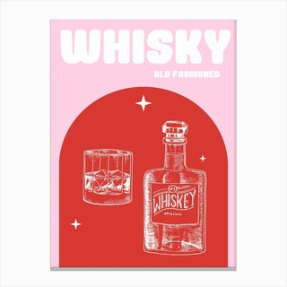 Whisky Old Canvas Print