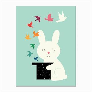 Magic Of Peace Canvas Print