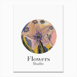 Flowers Studio 2020 Canvas Print
