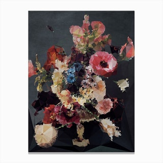 Bouquet No 7 Canvas Print
