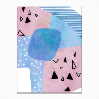 Blue Mint Canvas Print