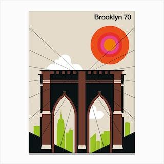 Brooklyn 70 Canvas Print