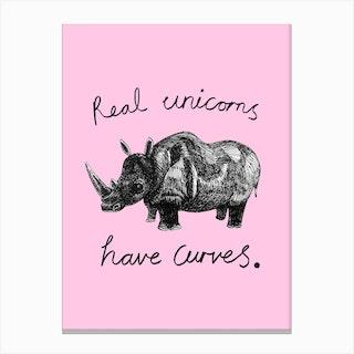 Real Unicorns Canvas Print