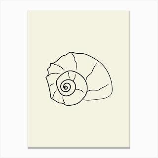 Seashell 3 Canvas Print