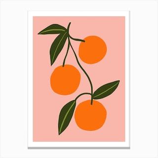 Orange Squeeze Canvas Print
