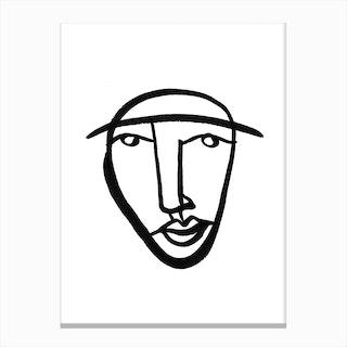 Faces 8 Canvas Print