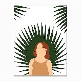 Tropical Reverie Innocence Canvas Print