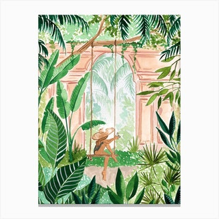 Jungle Swing Canvas Print