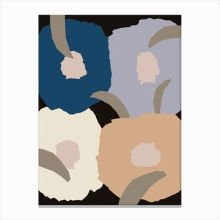 Blossom Dark Canvas Print