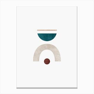 Abstract Geometric 4 Canvas Print